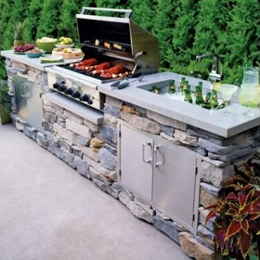 16 Cool Ideas for Your Outdoor Kitchen fi