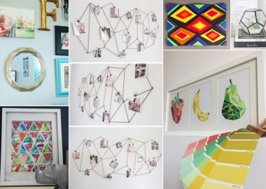 20 Creative Geometric Decor Ideas fi