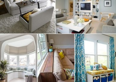 5 Ways to Create Functional but Trendy Storage in Your Living Room fi