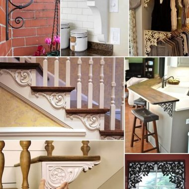 Creative Ideas to Decorate with Brackets fi
