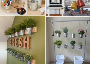 Creative Ways to Decorate and Organize with IKEA Buckets fi