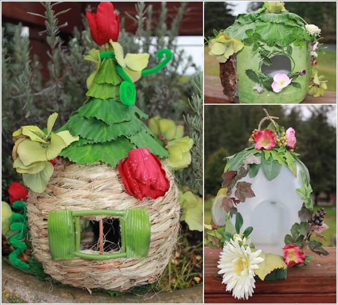 Diy Stone Fairy House With Plastic Bottles