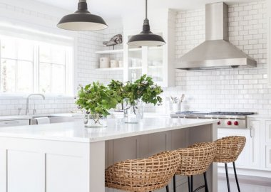 Decorate Your Kitchen with Wicker and Rattan fi