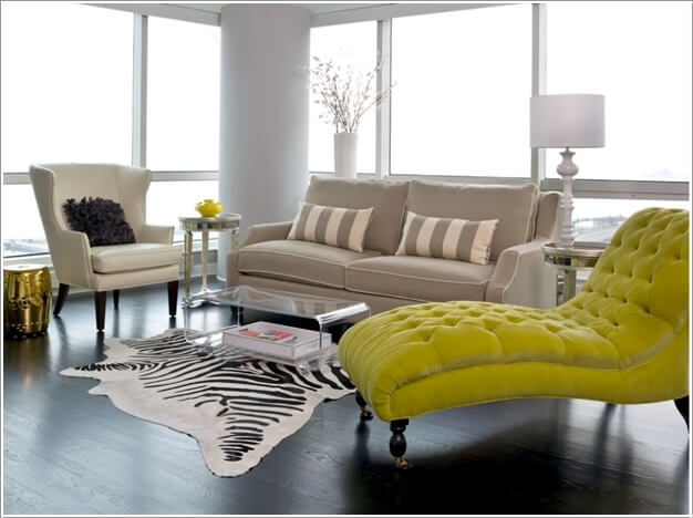 Living Room Chaise | Decorating With Chaise Lounge In Living Room
