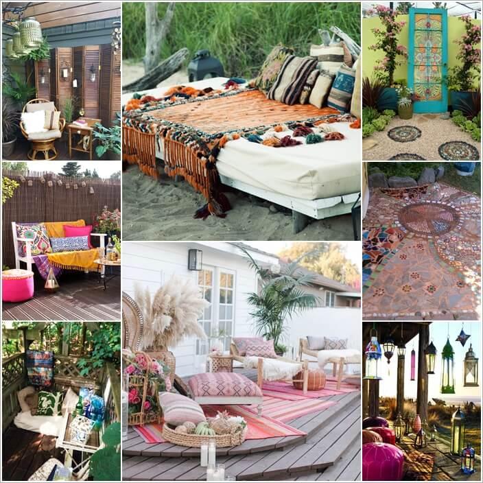 Design Your Garden in Bohemian Style