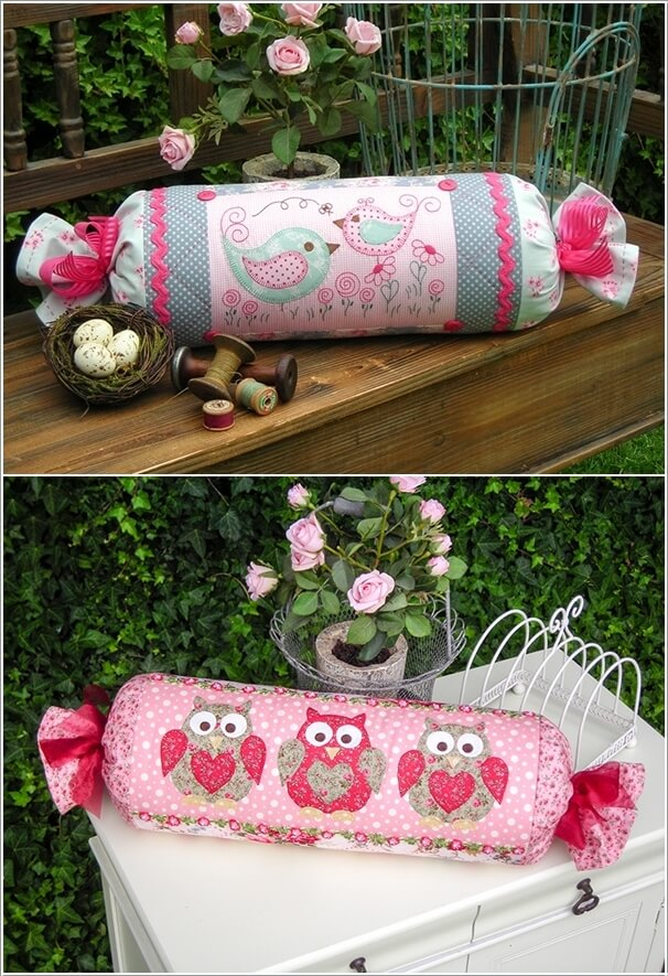 Different Ways To Decorate With Bolster Pillows
