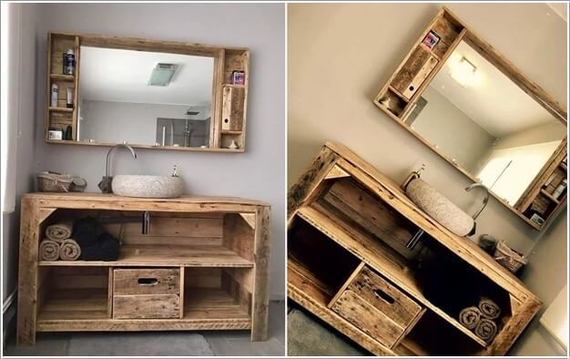 Bathroom Mirror Diy how wonderful are these diy bathroom mirror ideas!