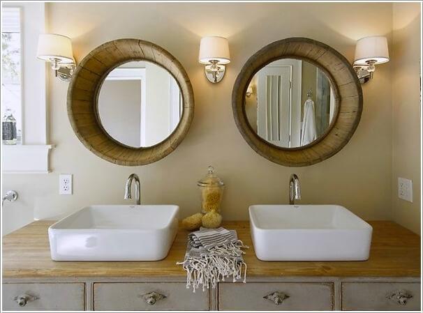 diy wonderful bathroom decor   How Wonderful are These DIY Bathroom Mirror Ideas!