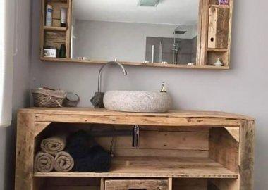 How Wonderful are These DIY Bathroom Mirror Ideas fi