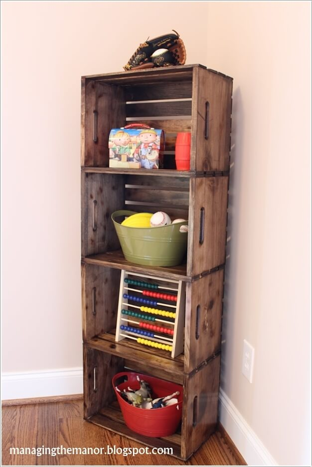 Look At These Incredible Wooden Crate Furniture Ideas