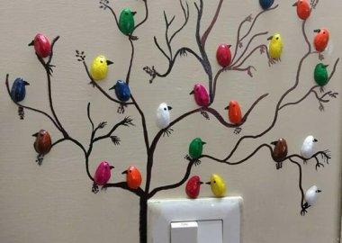 Make These Cute Pistachio Shell Birds fi
