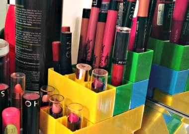 10 Clever DIY Makeup Holder Ideas fi