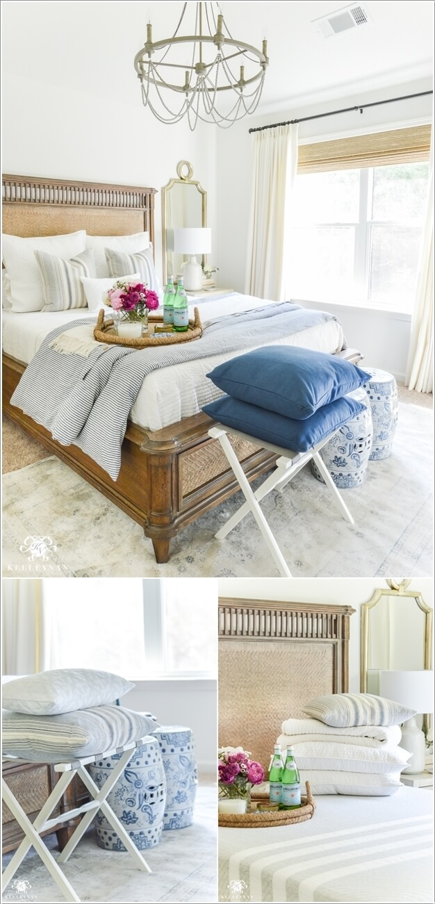 10 cozy ways to decorate a guest bedroom for Best way to decorate bedroom