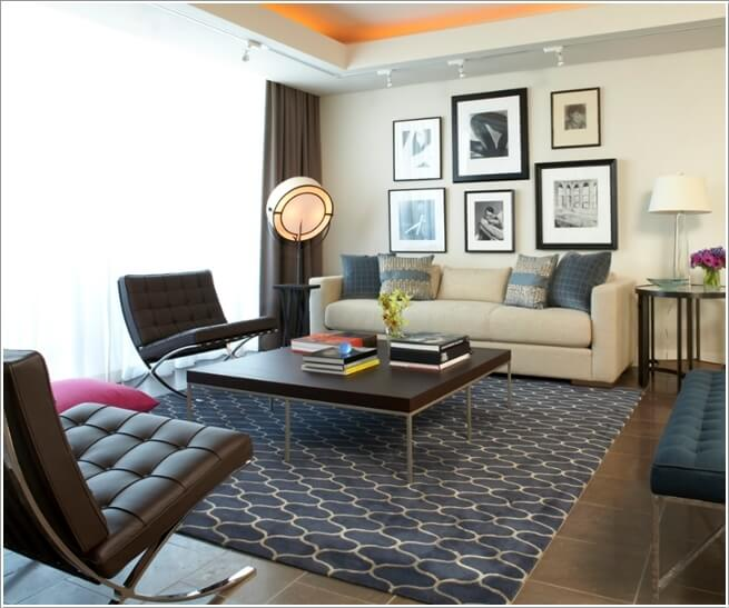 10 Ways to Add Pattern to a Living Room 5