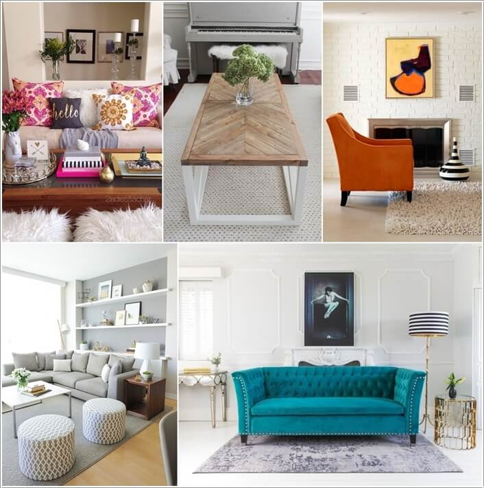 10 Ways to Add Pattern to a Living Room