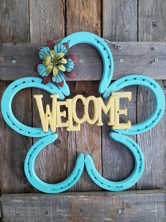 10 Diy Welcome Signs For Your Front Door Or Porch