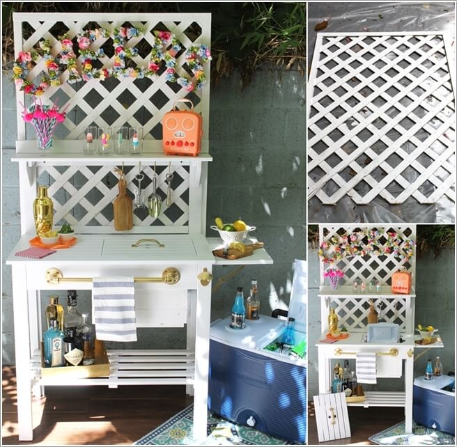 15 Fabulous Ways To Decorate With Lattice Panels