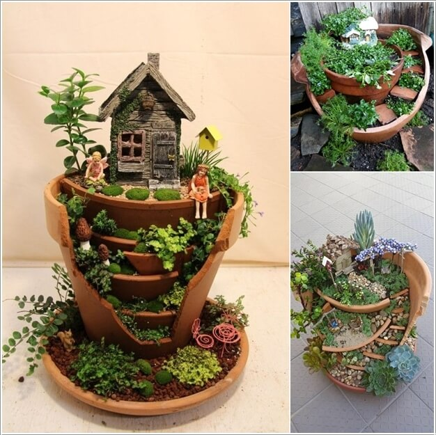 Magical Fairy Garden Designs: 15 Magical Recycled Fairy Garden Ideas