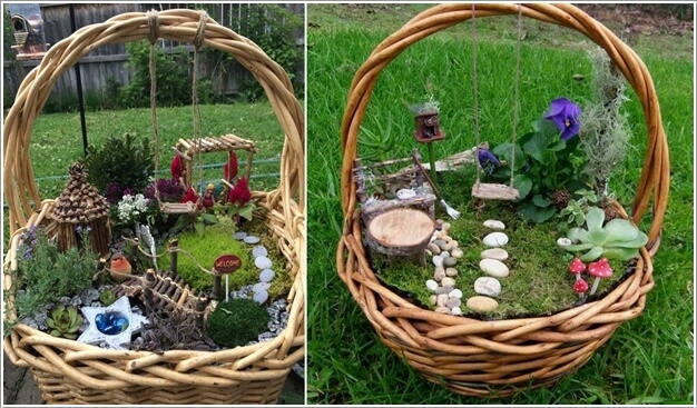 15 Magical Recycled Fairy Garden Ideas