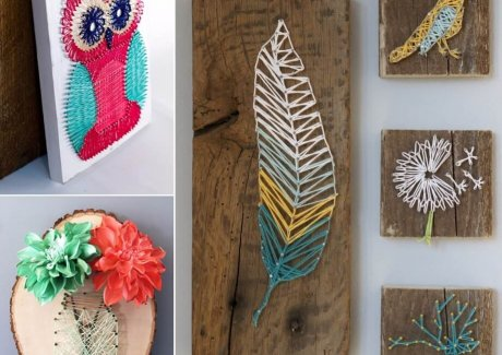 40 Fabulous String Art Projects You Will Admire fi