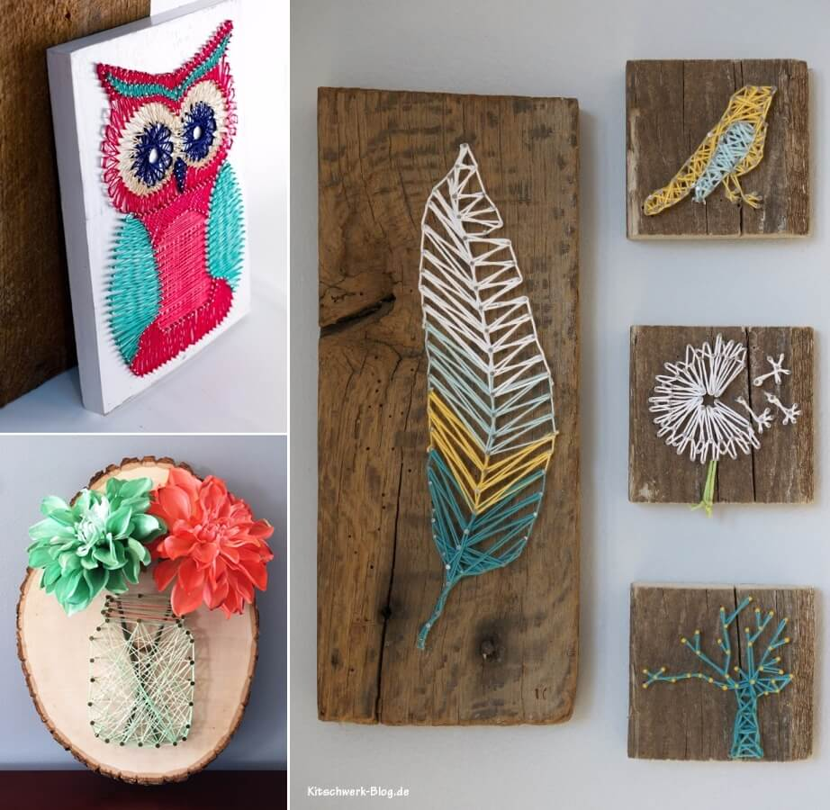 40 Fabulous String Art Projects You Will Admire