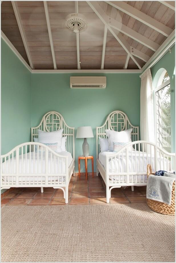Amazing 2 Single Beds Room Ideas