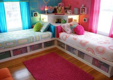Amazing 2 Single Beds Room Ideas fi