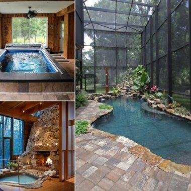 Amazing Small Indoor Pool Ideas fi