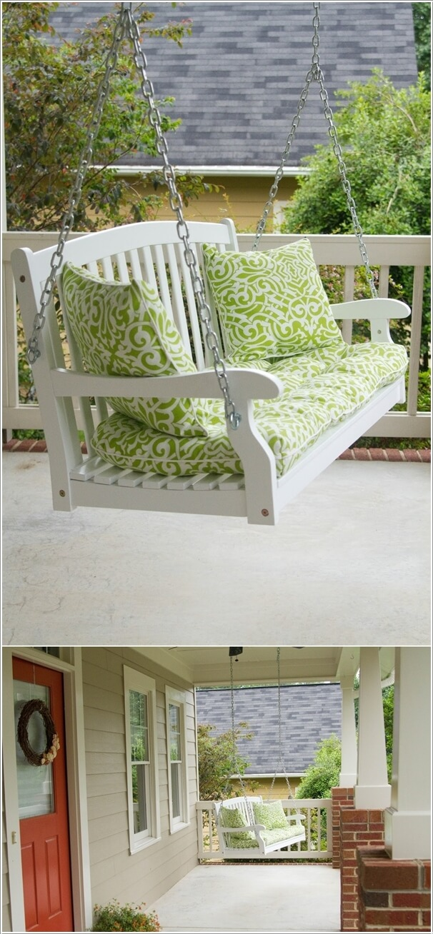 Decorate Your Front Porch With Whimsical White