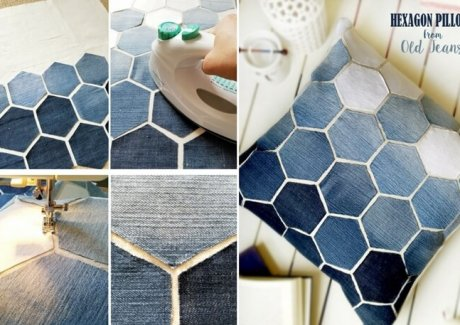 Decorate Your Home with Old Jeans Projects fi