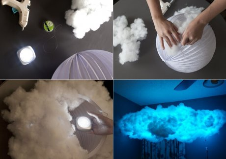 Make a Whimsical Cloud Light for Your Room fi