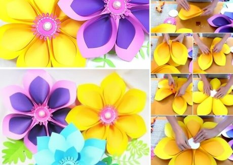 These Giant Hawaiian Paper Flowers Are So Beautiful fi