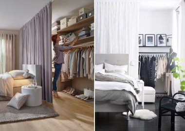 Use Curtains as Room Dividers fi