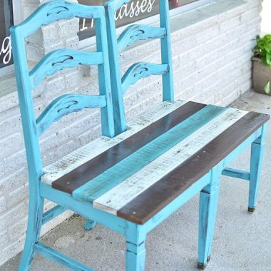 10 Awesome DIY Front Porch Bench Ideas fi