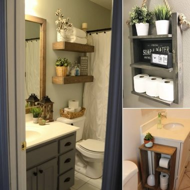 10 DIY Wood Projects for Your Bathroom fi
