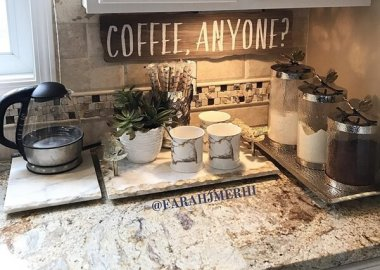 10 Ideas to Make Your Coffee Station Interesting fi