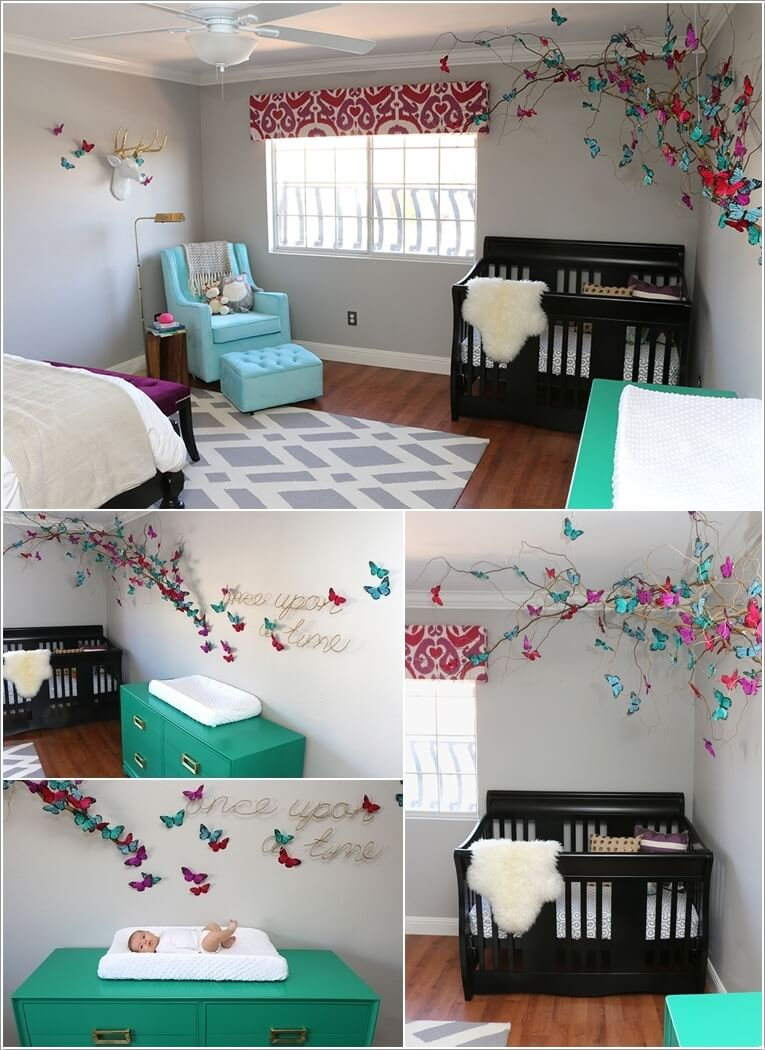 10 Amazing Kids Room Ideas: 10 Butterfly Decor Ideas For A Girls Room