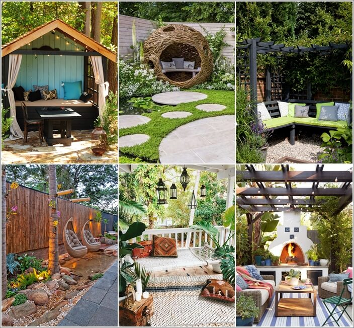 10 Outdoor Seating Nooks You Will Fall in Love With on Backyard Nook Ideas id=48286
