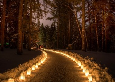 10 Outdoor Wedding Walkway Lighting Ideas fi