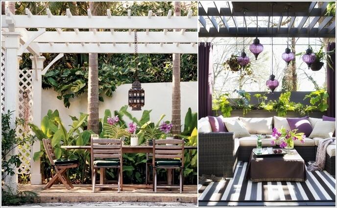 Charming patio deck lighting ideas