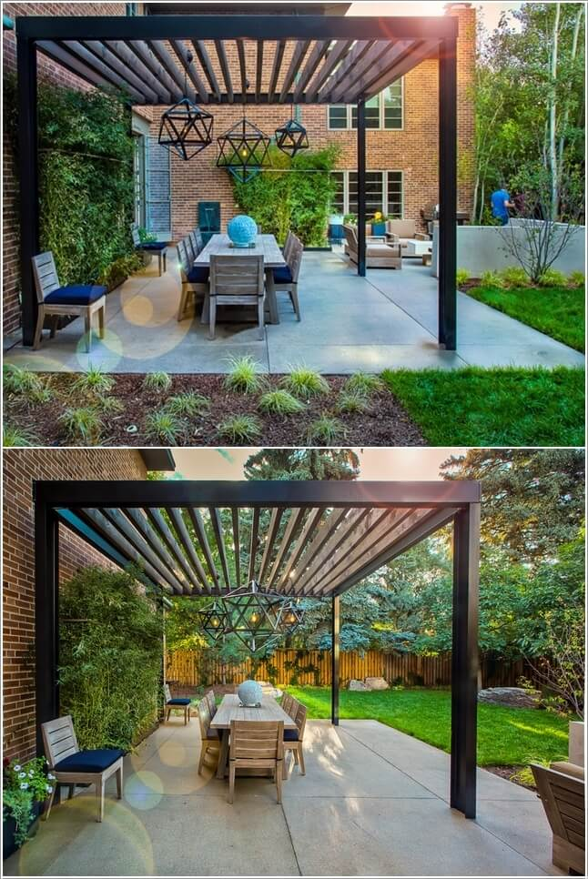 10 Wonderful Pergola Lighting Ideas