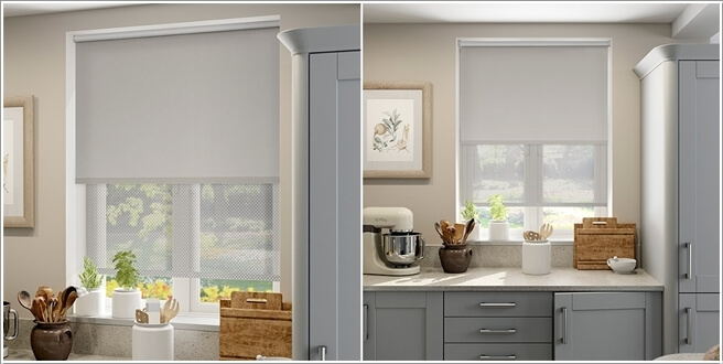 Awesome Kitchen Blind Ideas