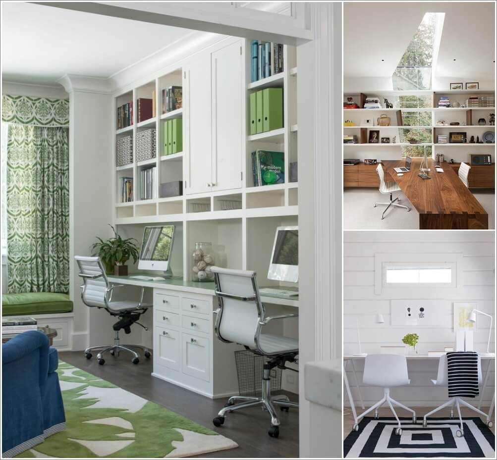 Creative Home Office Ideas: Creative Two Person Home Office Ideas