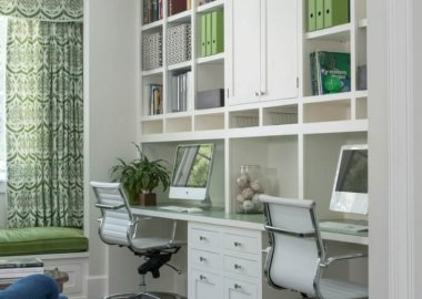 Creative Two Person Home Office Ideas fi