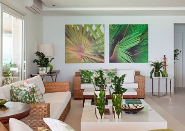 Decorate Your Living Room with Wicker fi