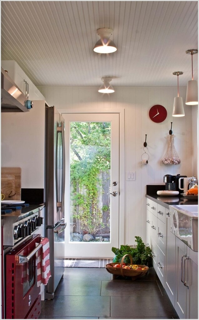 How Beautiful Are These Kitchen Exit Doors