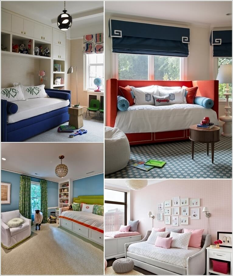 10 Cool Daybed Ideas For Your Kids Room