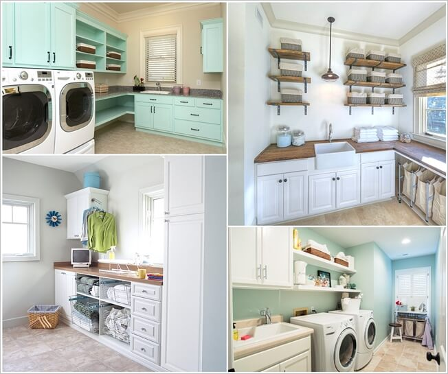 Clever laundry room shelving ideas - Laundry room shelving ideas ...