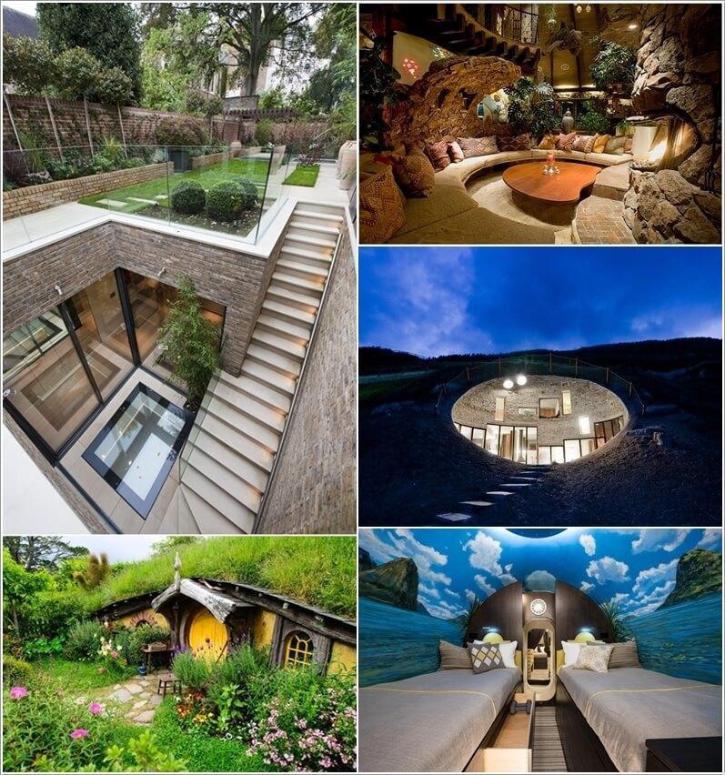 underground home.  Stunning Underground Home Ideas
