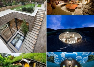 Stunning Underground Home Ideas fi